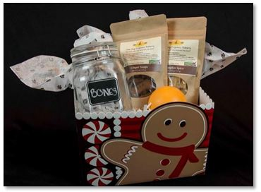 One Dog Organic Gift basket