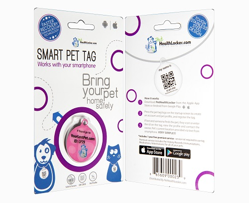 smart pet id tag